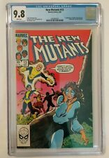 NEW MUTANTS #13 CGC 9.8 White Pages, 1st Appearance of Cypher! NEW CASE! 1984