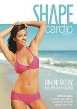 Cardio Toning EXERCISE DVD - Shape Cardio Bikini Body All Year Round 2 Workouts