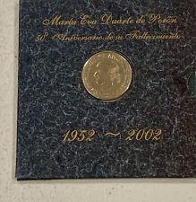 Eva Peron 50th anniversary of Her Death $2 Coin and literature