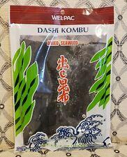 New Unopened Wel-pac Dashi Kombu Dried Seaweed (Pack 1)
