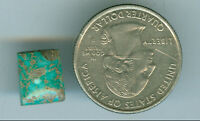 5 Carat Natural Amercian Turquoise cab  10mm x 12mm Fox Mine