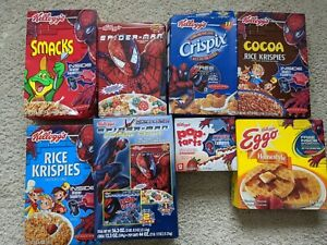 Spiderman Cereal Boxes