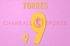 Torres #9 EURO 2012 Italy Homekit Nameset Printing