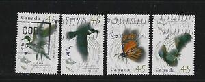 Canada 1995 Migratory Wildlife with error (aune) Used Set
