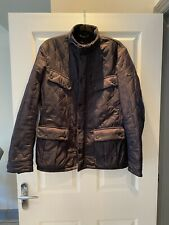 Mens Navy Barbour Jacket Size M