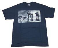 Star Wars AT-AT Walker Movie Scene Vintage Retro Men's T Shirt XLT-3XLT