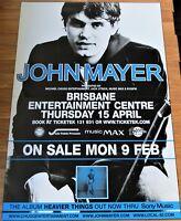 JOHN MAYER POSTER CONCERT TOUR BILLBOARD Heavier Things 2 SHEET 152x102cm