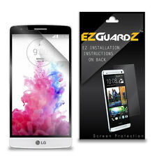 4X EZguardz LCD Screen Protector Skin Cover Shield HD 4X For LG G3 S (Clear)