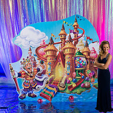 Candy Land Castle Standee Candy Land party! Kids Decoration, Background Cutout