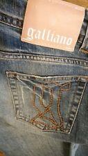 GALLIANO pantaloni jeans denim taglia 28/42