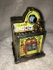 New ListingBailey Design Collection Ceramic Slot Machine Coin Bank - Signed 2001