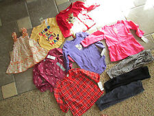 NEW LOT 10 BABY GIRL CLOTHING CARTERS DRESSES TOPS SHIRTS PANTS+ 18M FREE SHIP