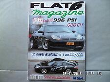 FLAT 6 N°122 04/2001 PORSCHE 996 PSI 964  J32