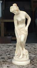 A. Santini Bathing Woman Statue Italy