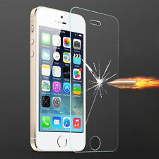 Clear Genuine Tempered Glass Film Screen Protector Guard For Apple iPhone SE