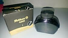 New Vintage Pelikan Ink Bottle 4001 Fountain Pen Ink 329144 62.5 ml Nib Black