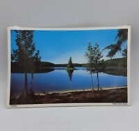 TRANQUILITY-NORTHERN ONTARIO CANADA Vintage Laminated Print Souvenir Placemat