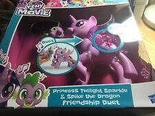 My Little Pony The Movie Twilight Sparkle & Spike the Dragon Friendship Duet