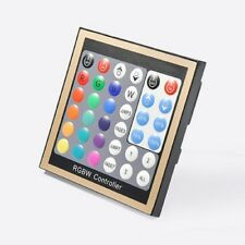 LED RGB RGBW RGB+W Panel Controller DMX 512 12V 24V Wandeinbau Unterputz Stripe