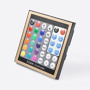 LED RGB RGBW RGB+W Panel Controller DMX512 12V 24V Wandeinbau Unterputz Stripe