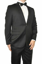 Cotton Blend Tuxedo Suits for Men