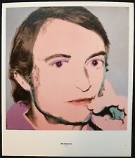 Roy Lichtenstein & Jamie Wyeth - Andy Warhol 1976 Mini Poster 29x24.5cm, R141