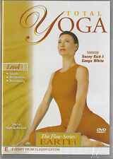 Total Yoga: The Flow Series Level 1-Earth DVD Tracey Rich & Ganga White NEW SEAL