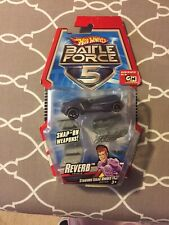 Hot Wheels Battle Force 5 Reverb Car With Snap-on Blasters