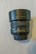 Nikon Nikkor AF-S 50 mm F/1.8G Lens --------- No reserve!