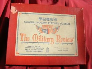 Tucks Famous Zag Zaw picture puzzle jigsaw The Military Review No 4 Scots Guards