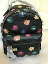 NWT Coach Rainbow Campus small backpack 31630