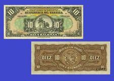 Panama banknotes 10 Balboas 1941. UNC - Reproductions