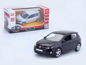 1:36 Volkswagen Golf GTI Diecast Model Car Metal Alloy Pull Back Kids Toy Gift
