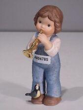 +# A004785 Goebel Archiv Muster Limpke Nina & Marco mit Trompete und Vogel