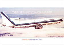 EASTERN AIR LINES LOCKHEED L.1011 TRISTAR A3 POSTER PRINT PICTURE PHOTO IMAGE x