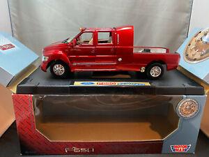 Motor Max Super Crewzer F-650 Pickup Truck Red Color 1/18 Scale Diecast