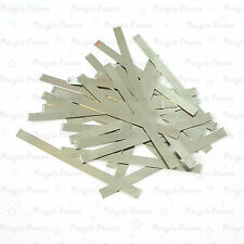 50 pieces 7.5cm x 0.5cm Solder Tab For AA AAA SubC 10440 14500 18650 battery