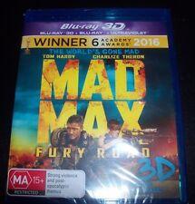 Mad Max Fury Road (Tom Hardy) (Australia Region B) 3D Bluray + Bluray – New