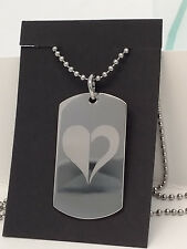 Homestuck God Tier Heart Aspect Fashion Dog Tag Necklace