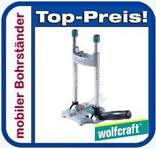 WOLFCRAFT 4522000 TECMOBIL mobiler Bohrständer für Bohrmaschine
