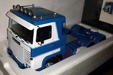 Road Kings 1:18 Scania LBT 141 1976 blauw/wit nieuw in doos