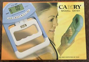 CAMRY Digital Hand Dynamometer Grip Strength Measurement Meter EH101