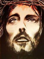 JESUS - CROWN OF THORNS - FINE ART PRINT POSTER 13x19 - EDC140