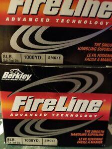 Berkley Fireline 2 1000 yard Bulk spools