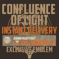 """Destiny 2 Emblem """"Confluence of Light"""" Code only"""