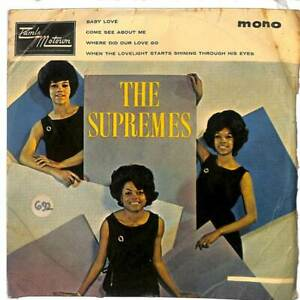 "The Supremes - The Supremes' Hits - EP - Mono - 7"" Record"