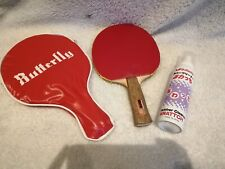Taico Table Tennis Bat Racket Bundle With Case And Cleaner