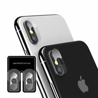 Anti Scratch Back Camera Lens Protective Film Protector Cover For iPhone X