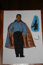 "Lando Calrissian 12"" Figure-Star Wars-Kenner 1/6th Scale-Customize Side Show"
