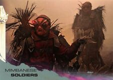 Solo: A Star Wars Story SILVER PARALLEL BASE Card #40 / MIMBANESE SOLDIERS